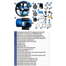 Запасные части для компрессоров